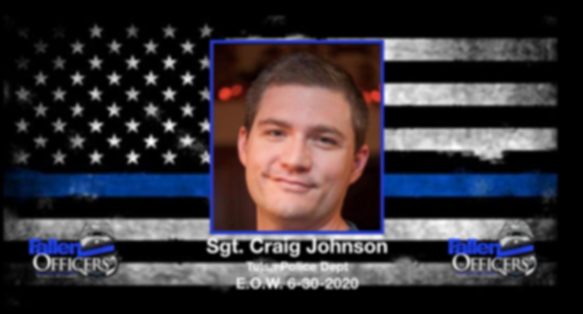 sergeant Craig johnson, tulsa police fal