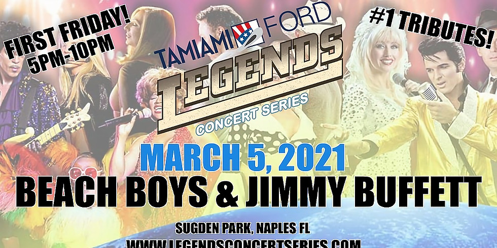 Jimmy Buffett and The Beach Boys