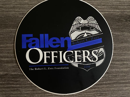 Fallen Officers Sticker