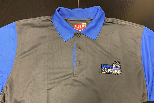 Mens Fallen Officers Polo