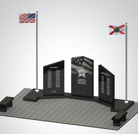 fallen officers memorial- Robert l zore