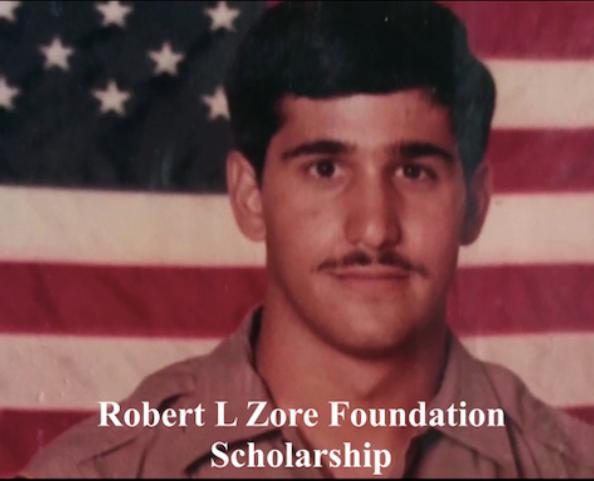 Robert l zore scholarship, the fallen of