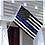 Thumbnail: The Fallen Officers Blue Line Flag 3x5