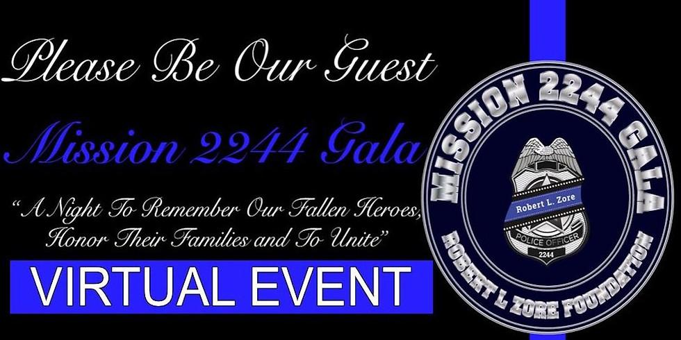 Mission 2244 Gala Virtual Facebook Live Event