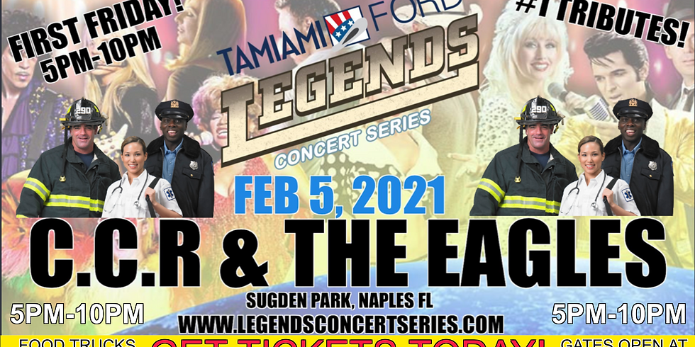 CCR & The Eagles Legends Concert Series