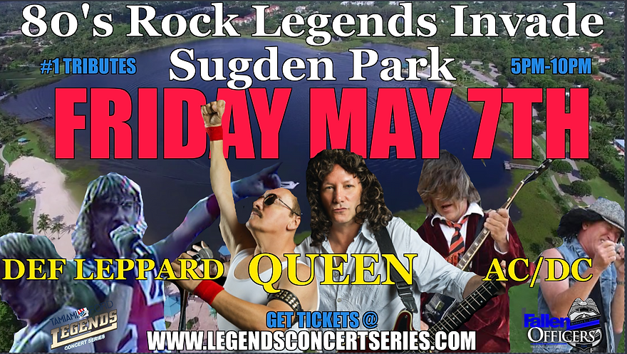 legends concert series, the fallen offic