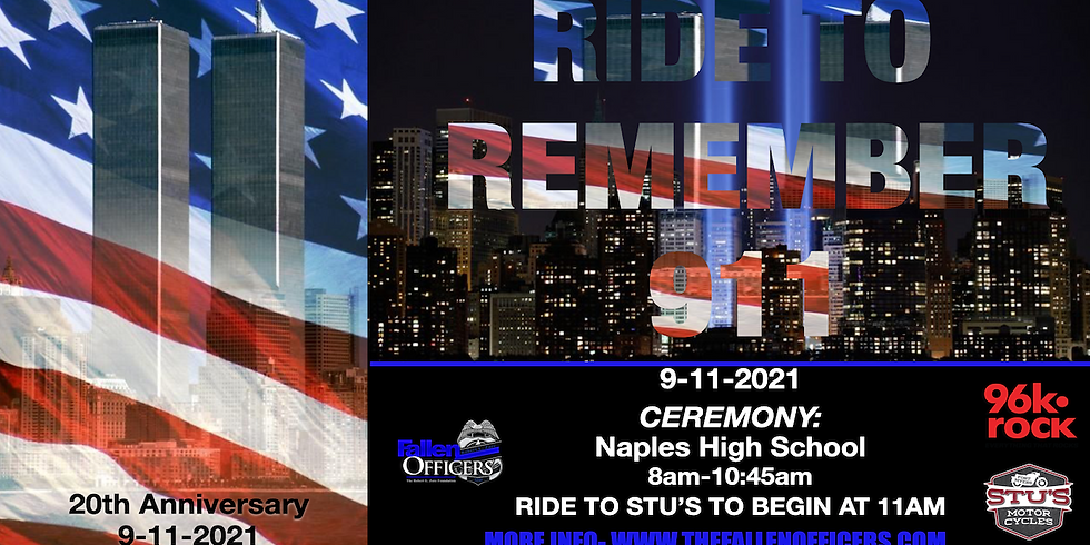 Riding To Remember 911