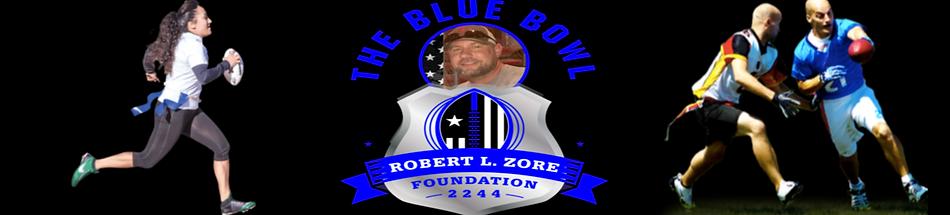 Garrett hull blue bowl flag football tou