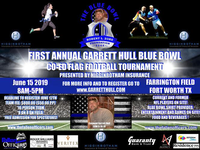 THe First Annual Garrett Hull Blue Bowl