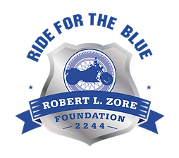 ride for the blue, the fallen officers, motorcycle club, 2244 Robert l zore, the fallen of