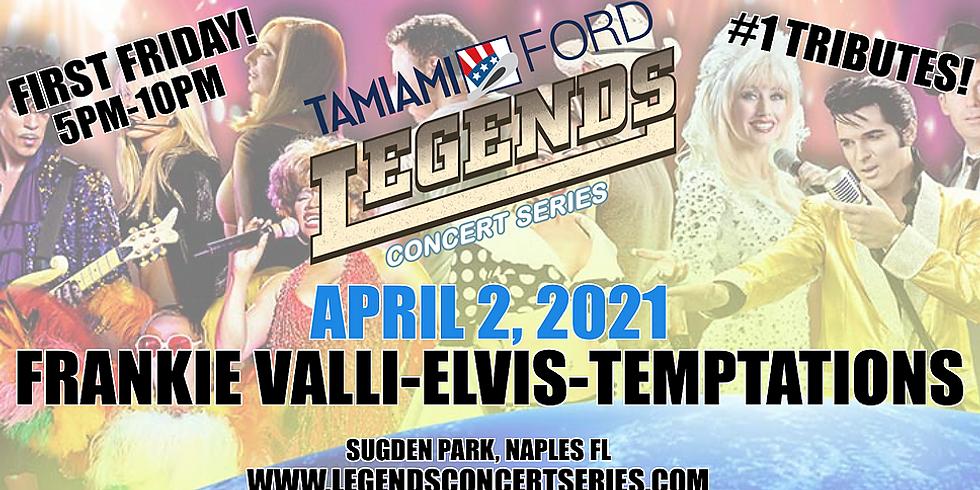Frankie Valli- Elvis- Temptations/Four Tops!