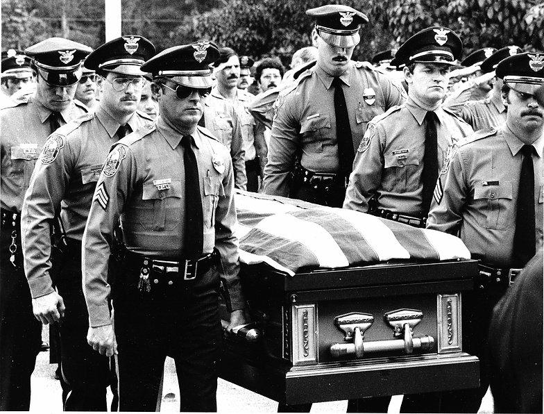 the fallen officers, Robert l zore foundation, the blue bowl co ed flag football tournamen