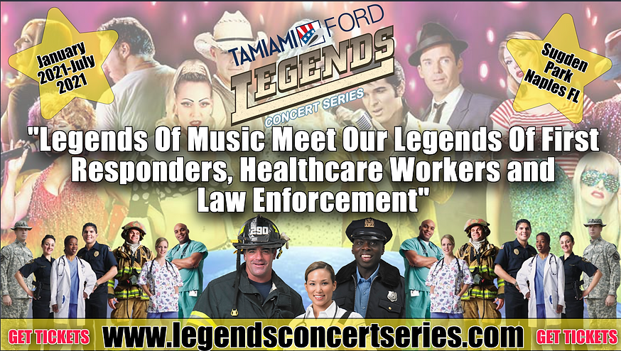 legends concert series, Naples Fl, New Y