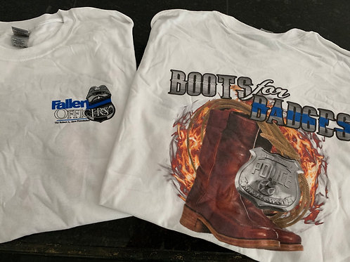 Boots For Badges T-Shirts