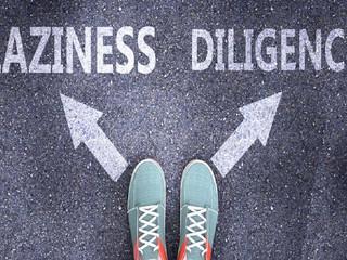 Laziness vs Diligence