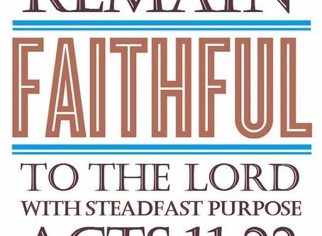 Encouragement in Faith