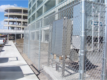 Airport Headquarters Fencing/Automatic Crash Barriers