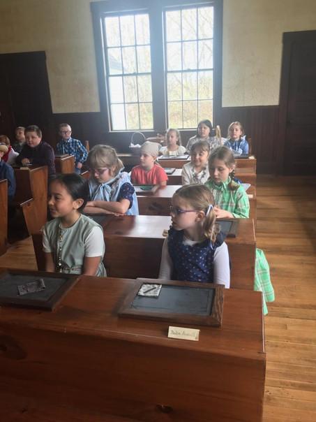 Macintosh School Visits Teague Park