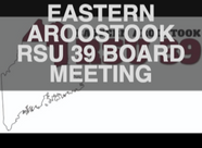 RSU 39 Remote School Board Meeting January 13th (Live Streamed)