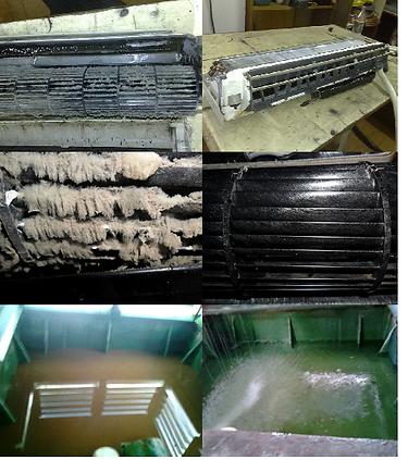 Lavagem Química de Ar Condicionado