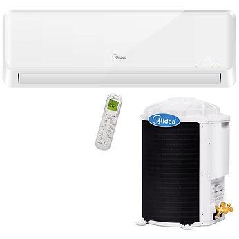 assistência técnica de ar condicionado Midea, instalação de ar condicionado Midea, conserto de ar condicionado Midea.