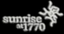 SUNRISE 1770 brushed metal logo DROP SHA