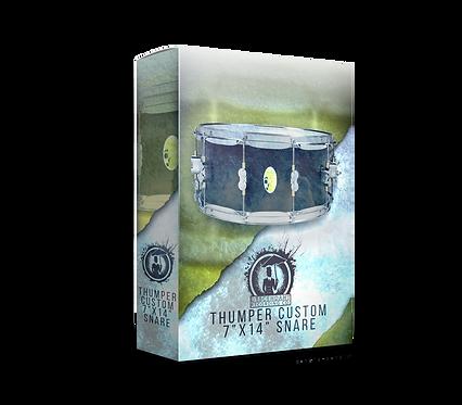 """Thumper Custom 7""""x14"""" Snare"""