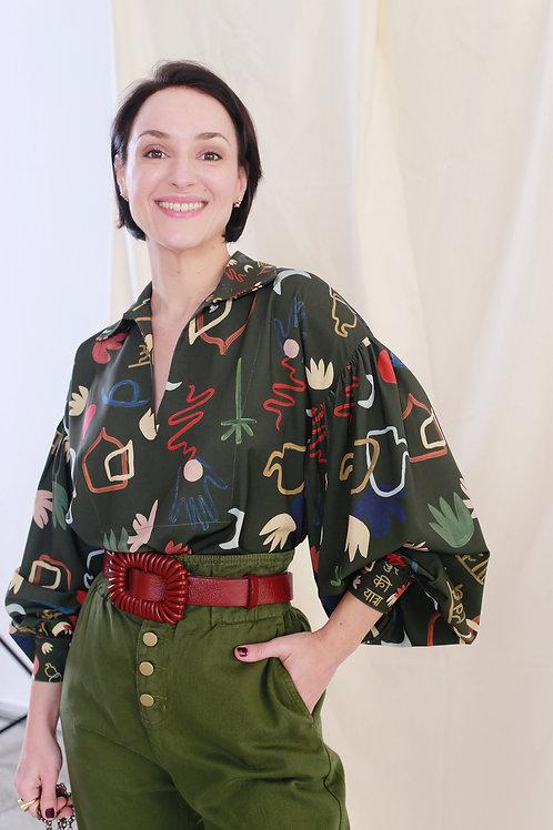 Camisa Look Pijama - MYK