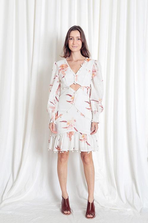 Vestido Flores - Outfit4You