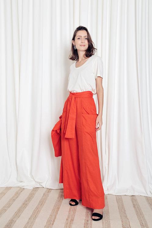 Calça Pantalona Linho - PRJ01
