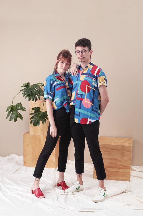 Camisa Geométrica - Yski