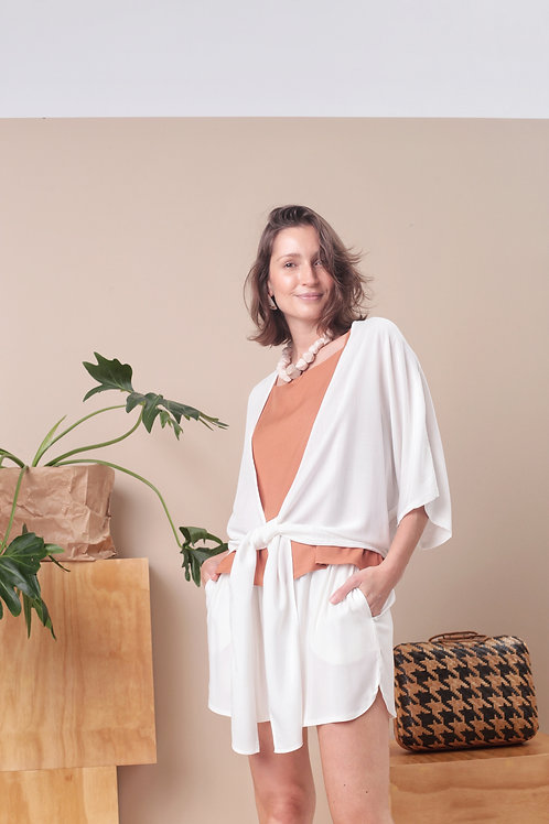 Quimono Croped Viscose - Outfit4You