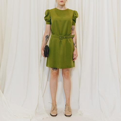 Vestido Com Cinto Lyocel - Outfit4You