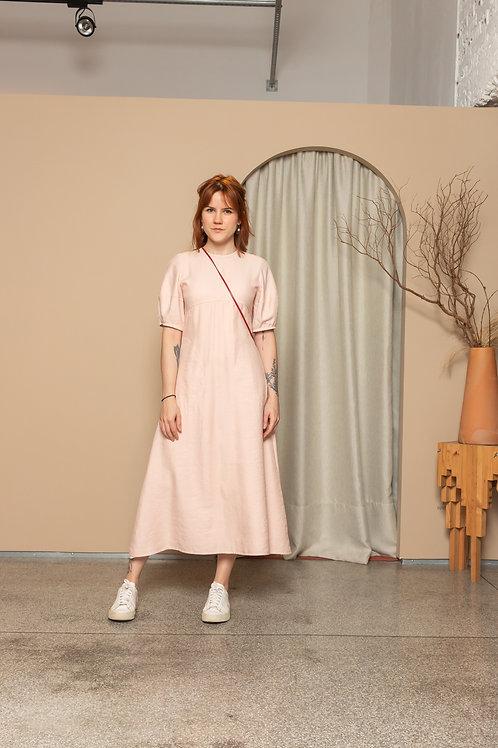 Vestido Ceres Rosa - Rocio Canvas