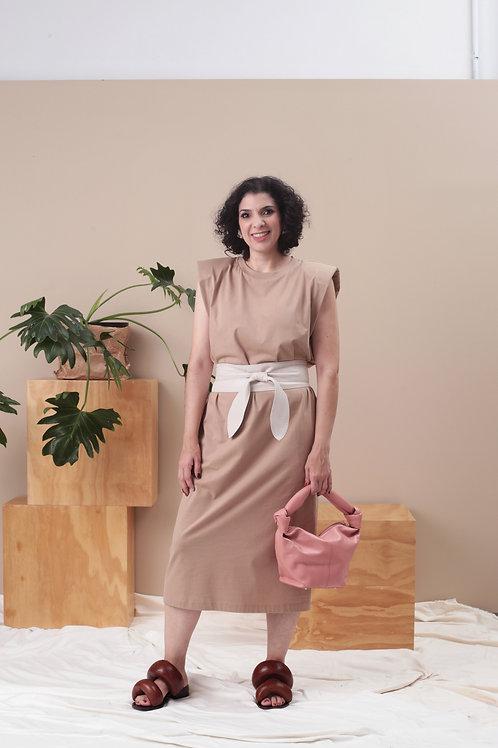 Vestido Frankie Longo - Rocio Canvas