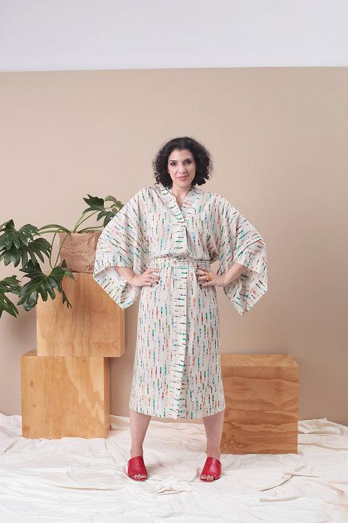 Kimono Pinceis Longo - MYK