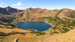 Lac d'Allos, Parc National du Mercantour (Alpes françaises)