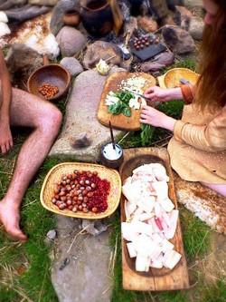 Cuisine primitive