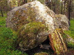 Abri sous roche (extérieur)