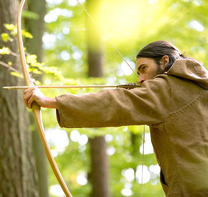 Fabriquer un arc en bois de la forêt
