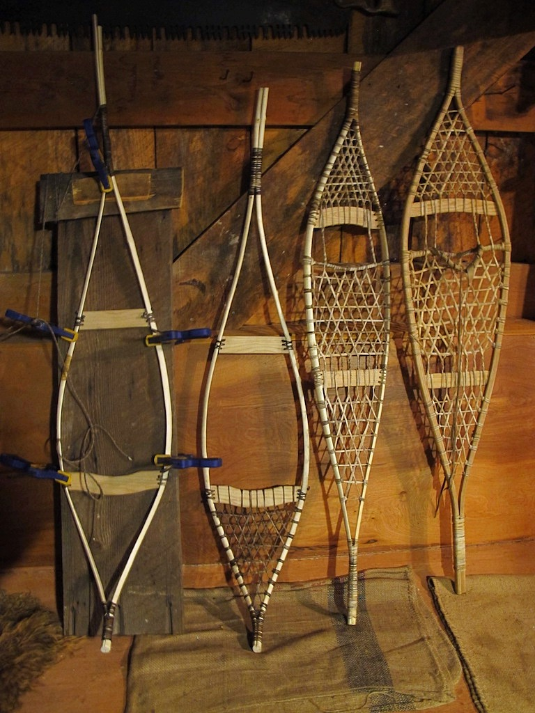 Fabrication de raquettes à neige