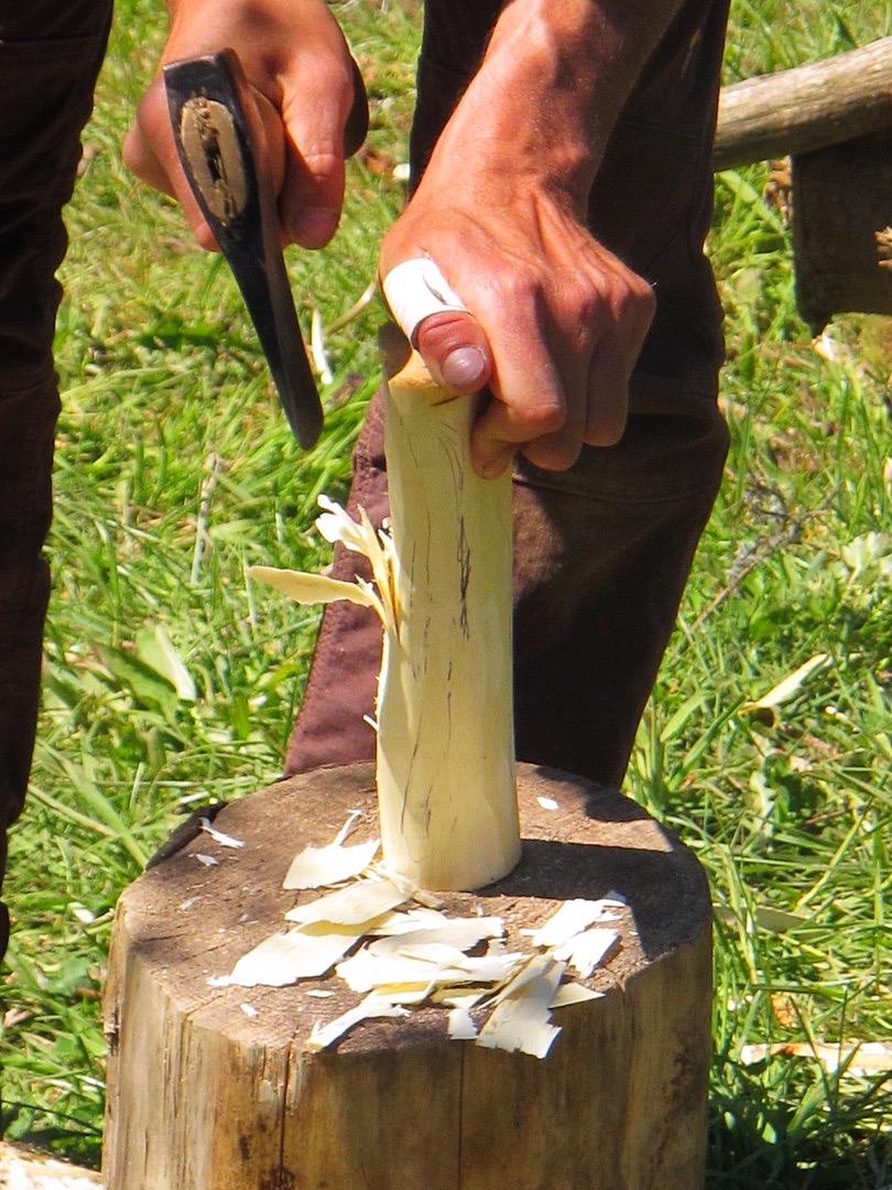 Fabrication d'une cuillère en bois