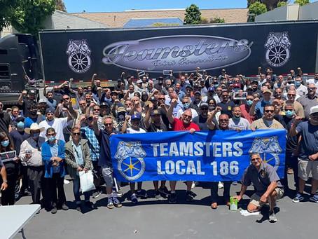SUCCESS!!!  TEAMSTERS LOCAL 186 JUNE 2021 GENERAL MEMBERSHIP MEETING WAS A PACKED HOUSE!