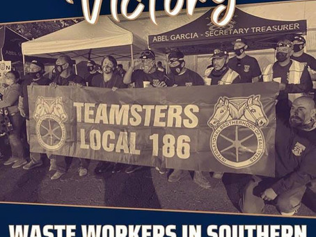SIMI VALLEY ACORN-WASTE MANAGEMENT VOTES UNION YES-TEAMSTERS 186