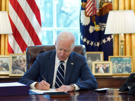 President Biden signed the American Rescue Plan into law, saving Union pensions