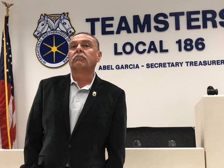 186 ST Abel Garcia elected Vice President of the Ventura/Santa Barbara Counties Building Trades