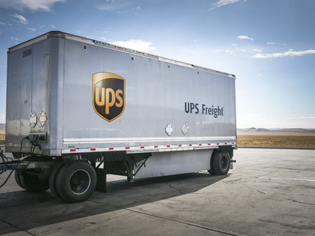BNN BLOOMBERG REPORT ON SALE OF UPS FREIGHT