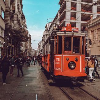 Transportation runs through the heart of Istanbul
