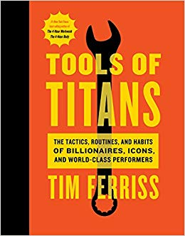 The Tools of Titans Cover
