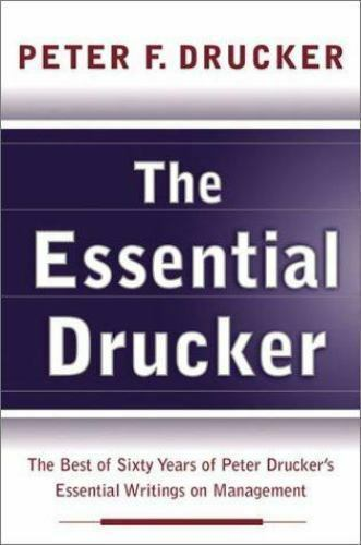 The Essential Drucker Cover